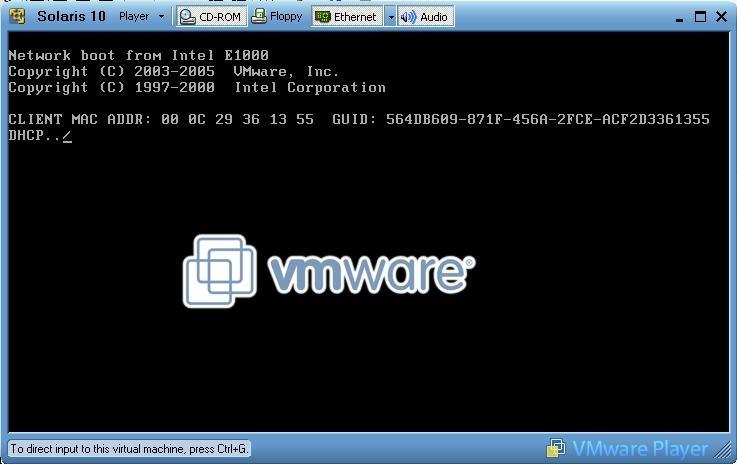 Articles - Solaris under VMWare under Windows [ steve-parker org ]